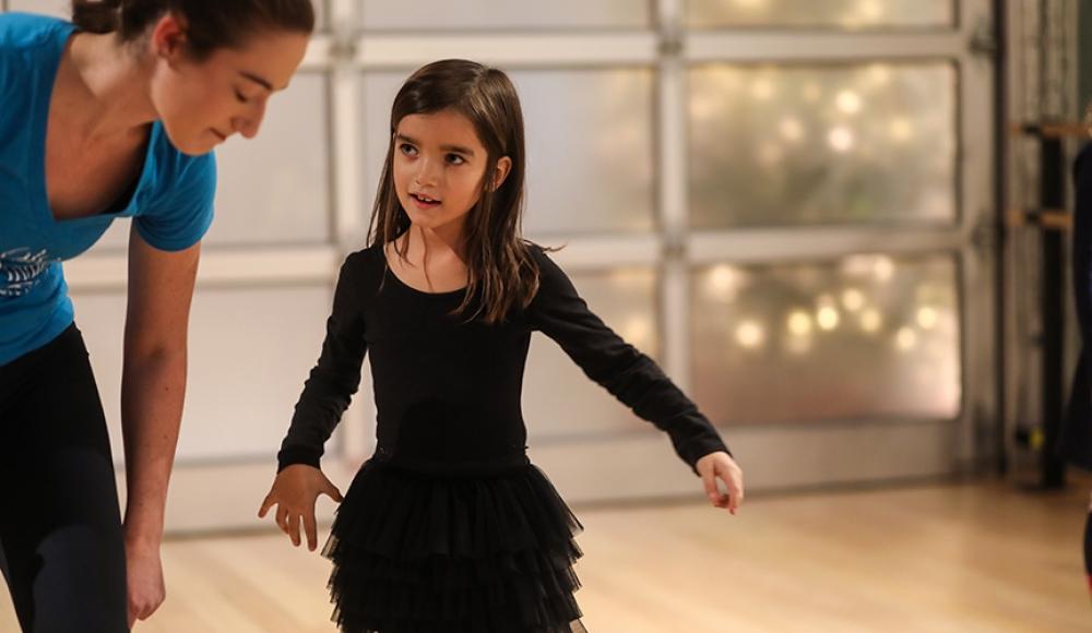 Semester enrollment dance classes for kids at the Salsa With Silvia dance studio