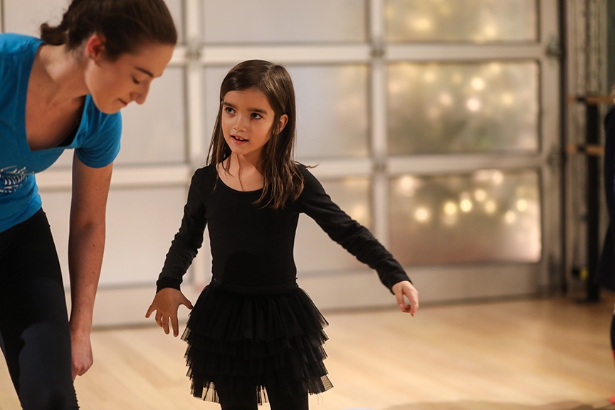 Semester enrollment dance classes for kids at the Salsa With Silvia dance studio