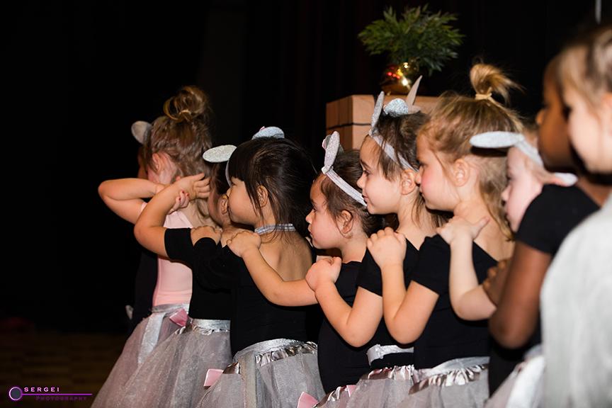 Dance recital: ballet, tap, jazz, modern, Latin. The Salsa With Silvia studio.