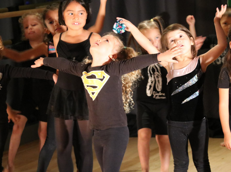Dance lessons and recitals at the Salsa With Silvia bilingual camps for kids.