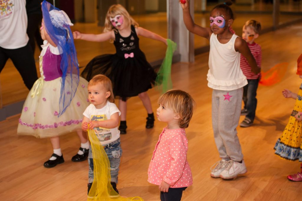 The Salsa With Silvia dance studio offers dance classes and bilingual dance and learning camps for babies and kids.