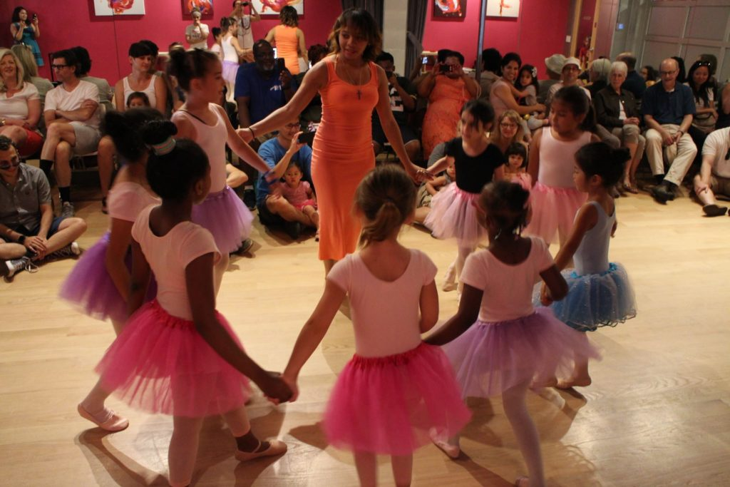 Kids recitals and showcases at the Salsa With Silvia dance studio in Washington DC and Bethesda