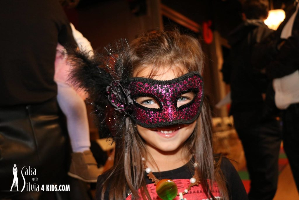 Halloween Party for kids at the Salsa With Silvia dance studio