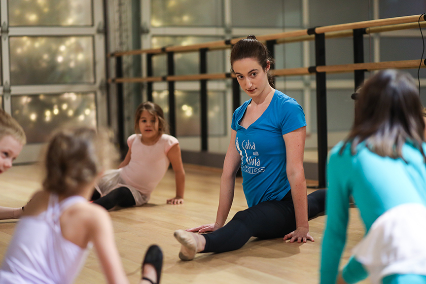 Semester enrollment ballet, tap, jazz, modern classes at the Salsa With Sivia dance studio in Washington, DC and Bethesda