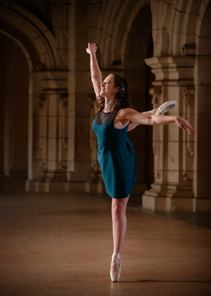 Molly Ellenberg - ballet teacher for kids at the Salsa With Silvia dance studio