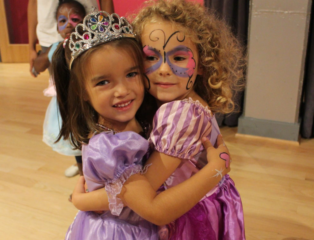 Princess birthday parties at the Salsa With Silvia dance studio