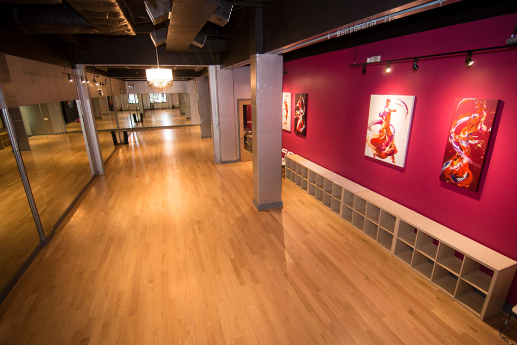 The Salsa With Silvia Studio on Georgia Ave NW in DC; a luxury venue, perfect for any occasion: birthday parties, corporate and private events, weddings and more.