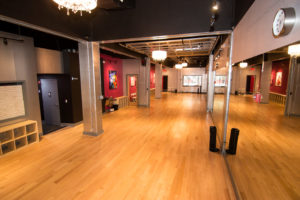 The Salsa With Silvia dance studio: a luxury venue for events and dance classes for kids and adults.