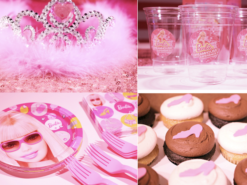 Barbie themed birthday parties with dance lesson, face painting, games and more, at the Salsa With Silvia dance studio.