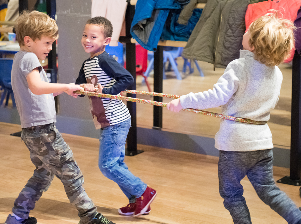 Firefighter themed birthday parties at the Salsa With Silvia dance studio - dance lesson, cookie decorating, games and more.