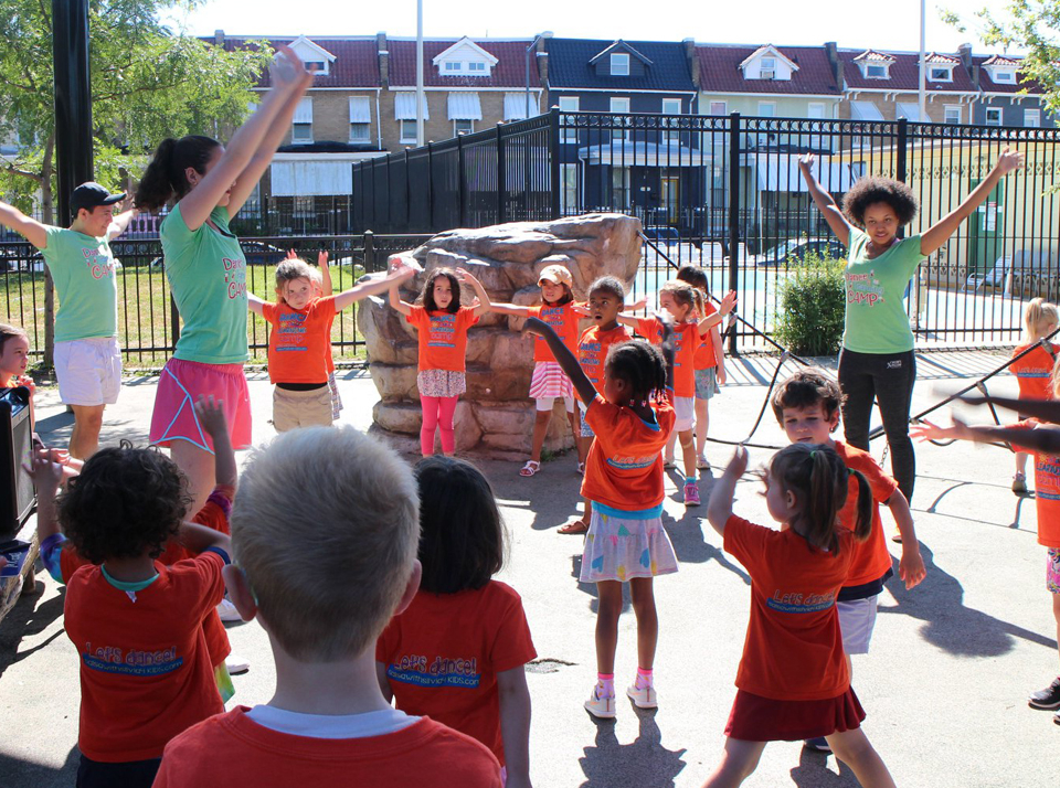 Dance and learning bilingual camps for kids at the Salsa With Silvia dance studio in DC and Bethesda