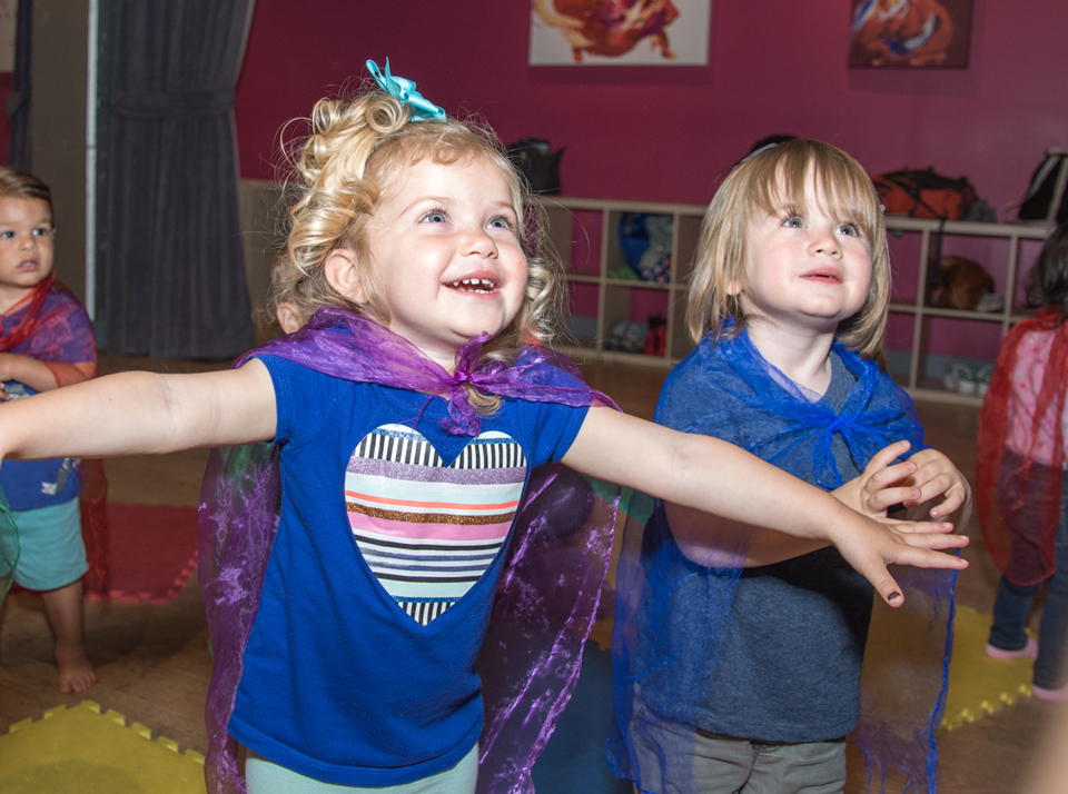 Baby and mommy dance classes at the Salsa With Silvia dance studio in DC and Bethesda.