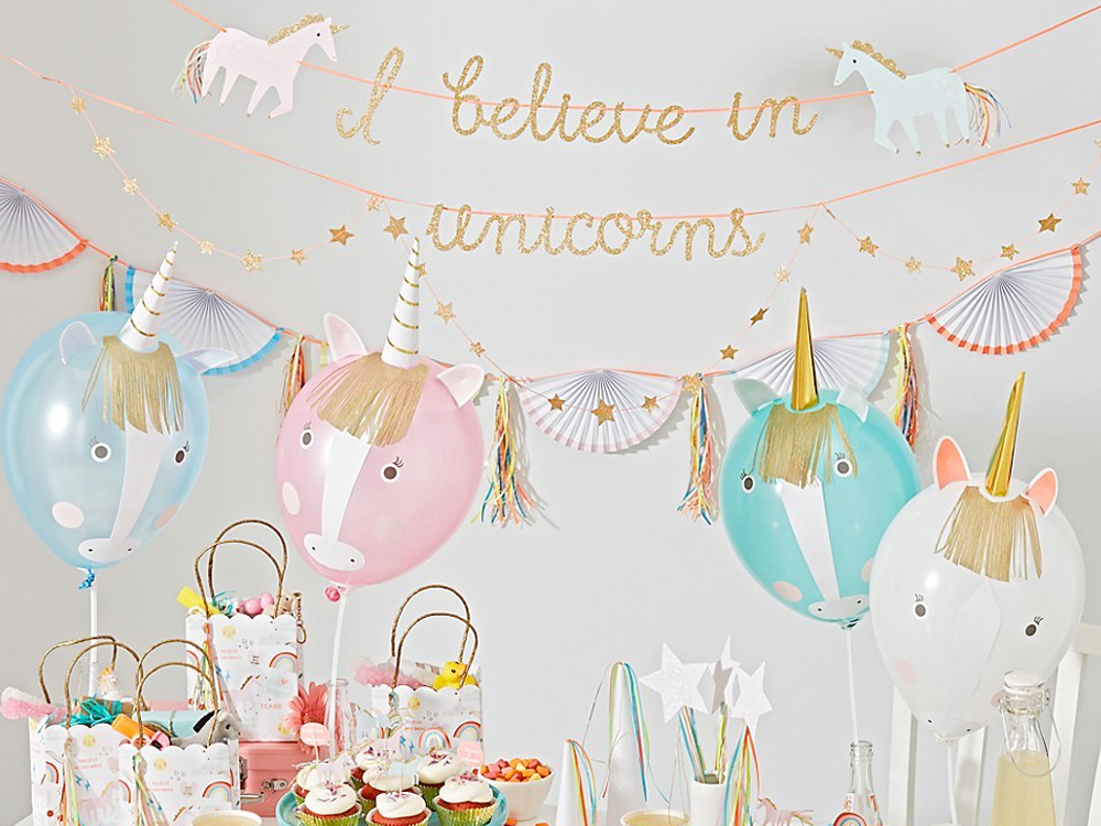 Unicorn themed birthday parties at the Salsa With Silvia dance studio: unicorn art projects, dance lesson, unicorn cake and fun.
