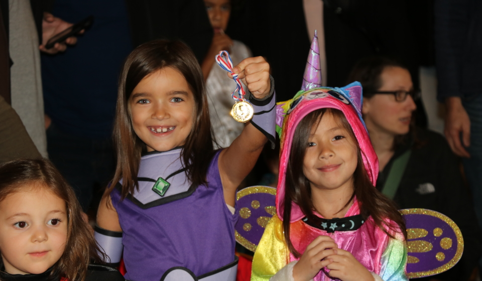 Carnival Halloween Dance Party For Kids at the Salsa With Silvia dance studio in DC