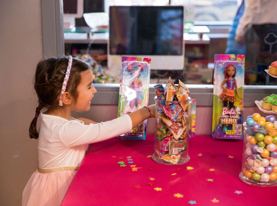 Barbie Birthday Party at the Salsa With Silvia Dance studio in DC and Bethesda
