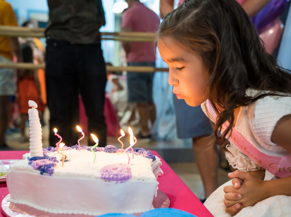 Birthday parties at the Salsa With Silvia studio in DC and Bethesda